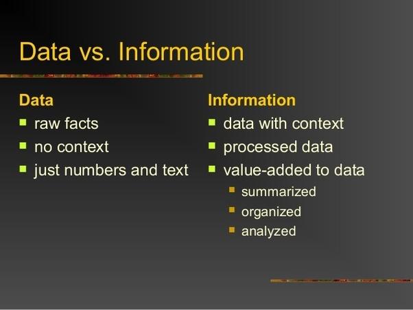datavsinformation