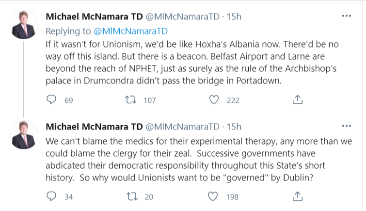 Michael-McNamara-TD-on-Twitter-Instead-of-criticising-unionism-let-s-look-at-the-complete-mess-we-ve-made-of-Irish-nationalism-and-nationhood-We-re-ruled-by-a-junta-of-medics-just-as-we-were-Rome-Ruled-for-%20(1)