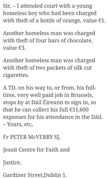 IrishTimesLetter031219